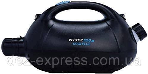 Генератор холодного туману VectorFog DС20 Plus. Генератор DС20+ на Акумуляторі. Батареї