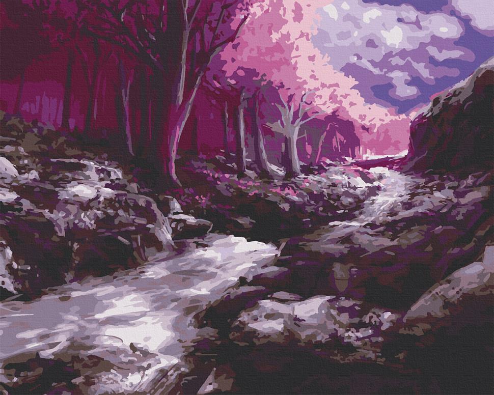 "Картина за номерами. Art Craft ""Фантастичний ліс"" 40*50 см 10562-AC"