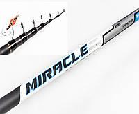 Удочка Mifine Miracle 5м Карбон тест 30-60грам для бокового кивка