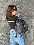 Женский рюкзак, плащёвка (чёрный), фото 6