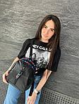Женский рюкзак, плащёвка (чёрный), фото 5