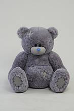Плюшевый мишка Тедди 90 см цвет серый   Плюшевые медведи   Магазин плюшевые медведи