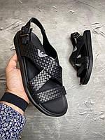 Мужские кожаные сандалии Armani (сланцы,шлепки,сандали,шлепанцы) босоножки philipp plein gucci сандали