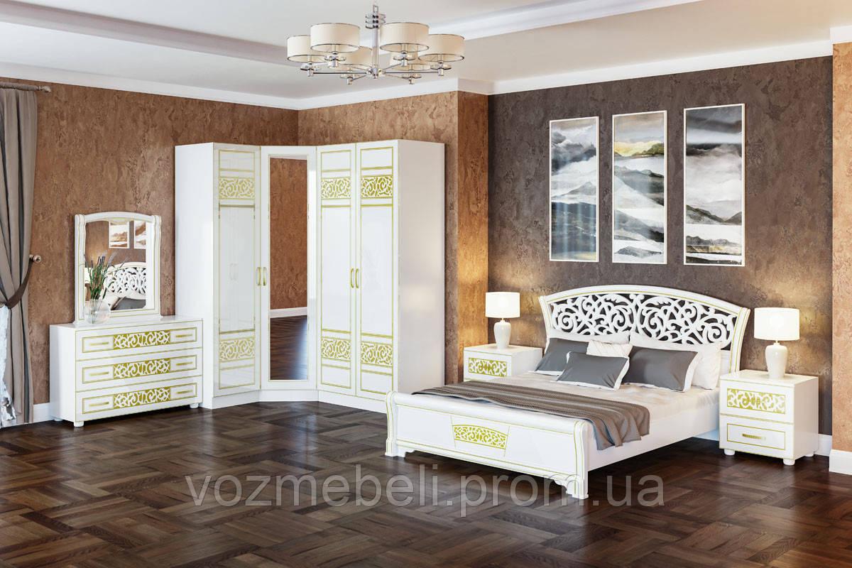 Спальня Поліна нова кутова (СМ)