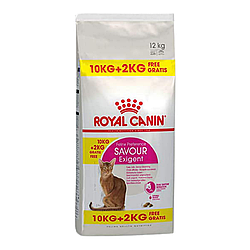Корм Royal Canin Exigent Savour для вибагливих котів 10 кг + 2 кг у подарунок