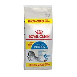 Корм Royal Canin Indoor для домашніх котів 10 кг + 2 кг у подарунок
