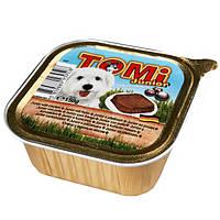 TOMi ДЛЯ ЩЕНКОВ (junior) консервы корм для собак, паштет. Вес 150гр.