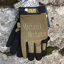 MECHANIX M-PACT COVERT GLOVES COYOTE Реплика