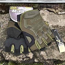 Рукавиці тактичні Mechanix M-Pact Fingerless Glove Olive
