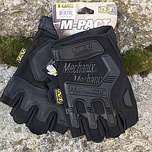 Тактические перчатки Mechanix M-Pact Fingerless Glove Black