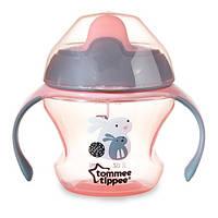Tommee Tippee Чашка-непроливайка 'Первая' Tommee Tippee 44700197  розовый