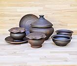 Набір гончарного посуду на дві особини, фото 5