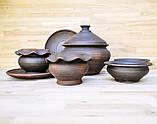 Набір гончарного посуду на дві особини, фото 2