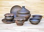 Набір гончарного посуду на дві особини, фото 4