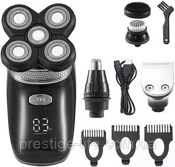 Аккумуляторная машинка для бритья и стрижки VGR V-330 5 в 1
