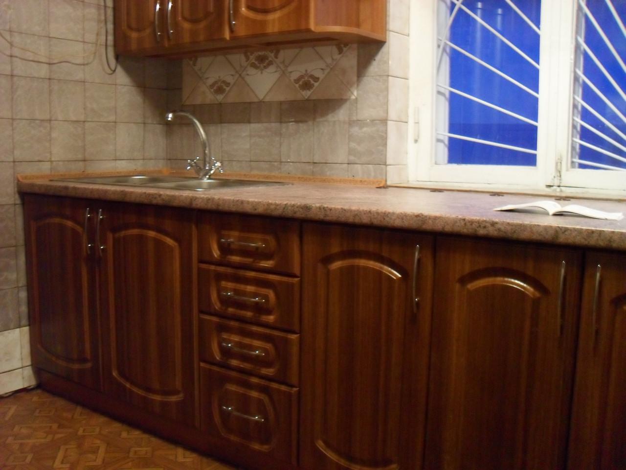 Кухня Классика МДФ пленка Орех
