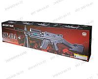 Игрушечное оружие Детский автомат MK 48 A с пульками, лазерным прицелом Изготовлен из высококачественного плас