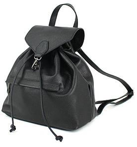 Жіночий шкіряний рюкзак Borsacomoda 9 л чорний