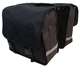 Велосипедна сумка, велоштани 34 L Сrivit S061785 чорна