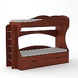 Двухъярусная кровать Бриз, фото 2