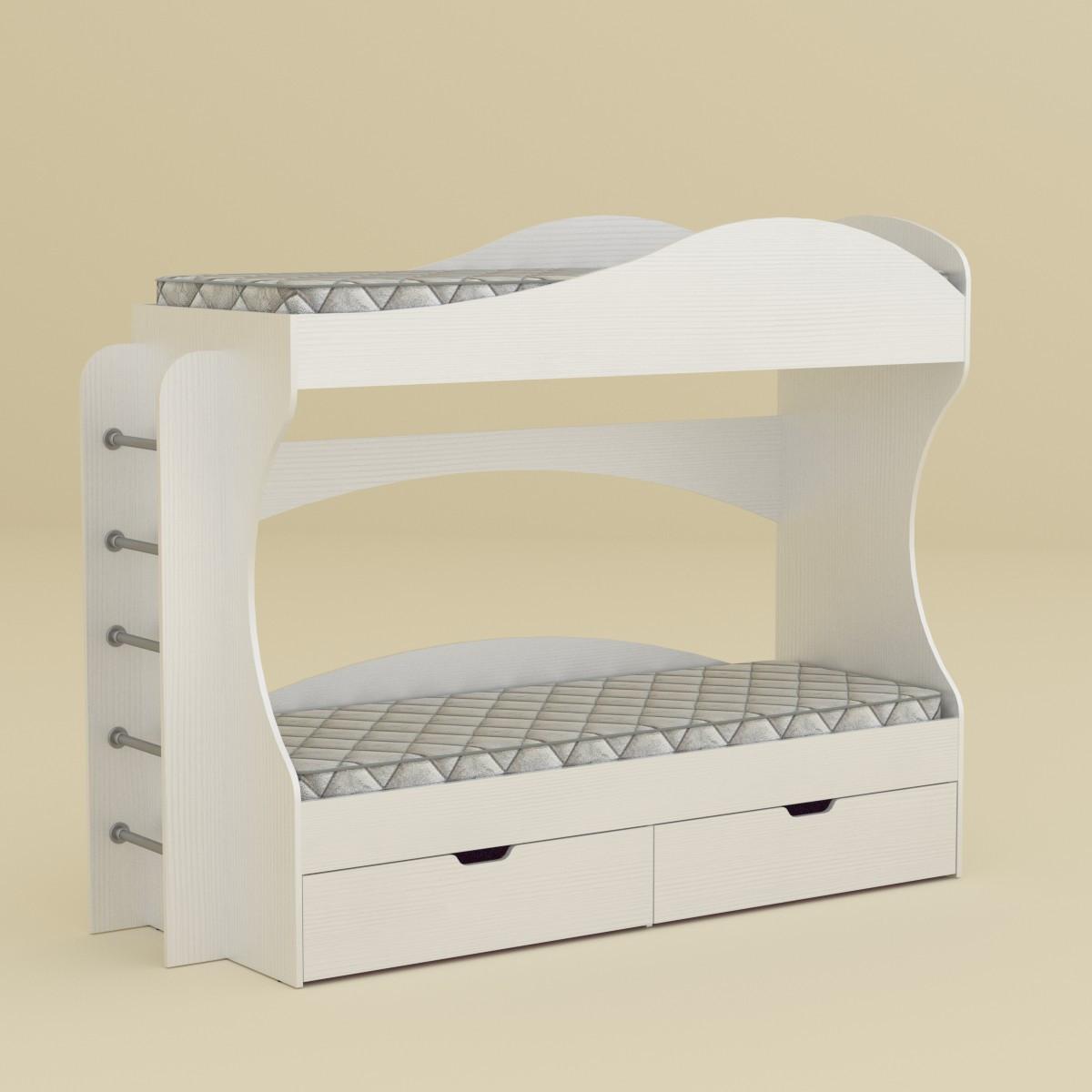 Двох'ярусне ліжко Бриз