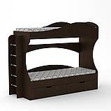 Двухъярусная кровать Бриз, фото 7
