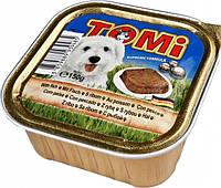 TOMi РЫБА (fish) консервы корм для собак, паштет. Вес 150гр.