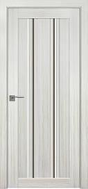 Двері Новий Стиль Верона С1 скло, Бронза, білий Перли, 900