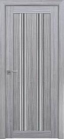 Двері Новий Стиль Верона С1 скло Графіт, Перли срібний, 800