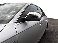 Audi A3 2004-2012 гг. Накладки на зеркала 2008-2012 (2 шт., нерж.)