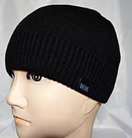 Двойная вязаная шапка на флисе, фото 1
