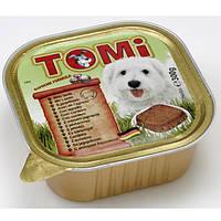 TOMi ЯГНЕНОК (lamb) консервы корм для собак, паштет.Вес 300гр.