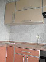 Кухня пластик на МДФ в С-профіль