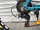 """Спортивный детский велосипед синий ТopRider 24"""" алюминиевая рама 14"""" детям от 7 лет рост от 130 см, фото 8"""