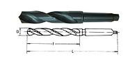 Сверло к/х средняя серия D=5,0 мм, Р9М3 , фото 1