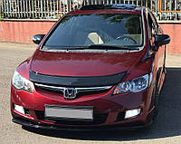 Honda Civic Sedan VIII 2006-2011 гг. Дефлектор капота (EuroCap)