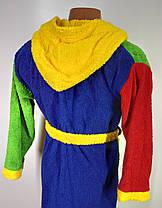 Дитячий  халат з капюшоном Розмір 152(110-х), фото 2