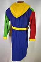 Дитячий  халат з капюшоном Розмір 152(110-х), фото 3