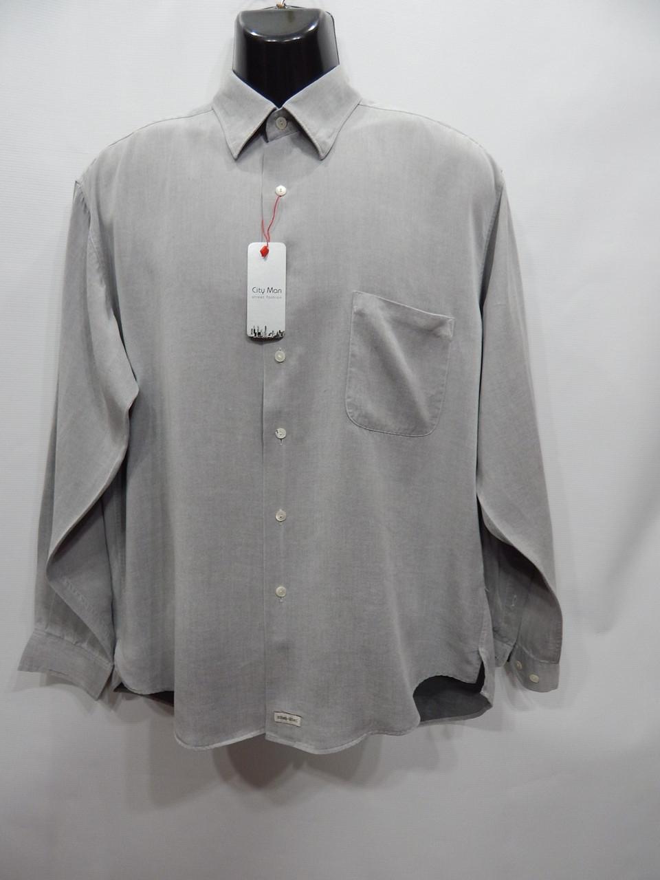 Мужская рубашка с длинным рукавом Burma Bibas р.48 069ДР
