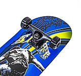 Дерев'яний Скейтборд Scale Sport 79х20 Display King скейт канадський клен для трюків, фото 2