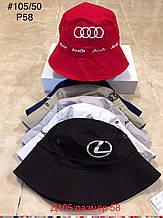 Панамка для мальчика Audi р. 58