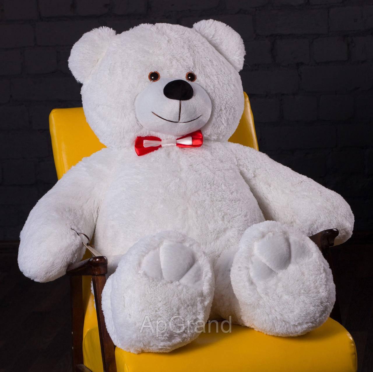 Плюшевый мишка Mister Medved Чарли 110 см Белый