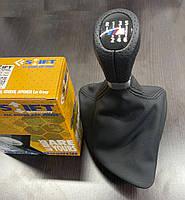 BMW 1 серия E81/82/87/88 2004-2011 гг. Чехол КПП -2021 ручка OEM (кожзам)