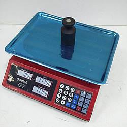 Торгові ваги з акумулятором Олімп 769 (40 кг)