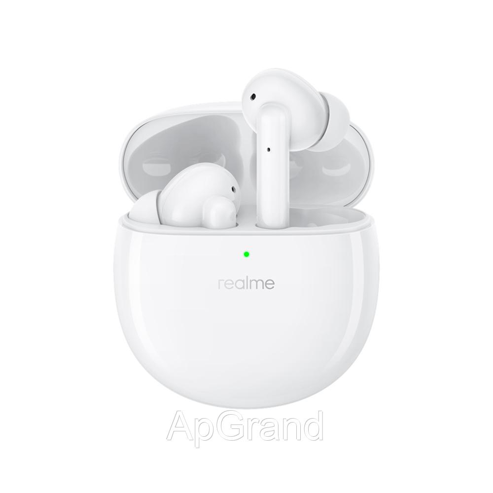 Навушники Realme нирки золото Air Pro white