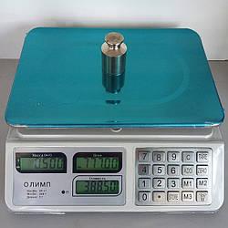 Електронні торгові ваги на батарейках Олимп_829 40кг(230х330мм)