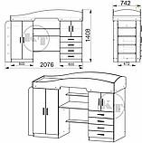 Кровать - чердак Универсал 2, фото 2