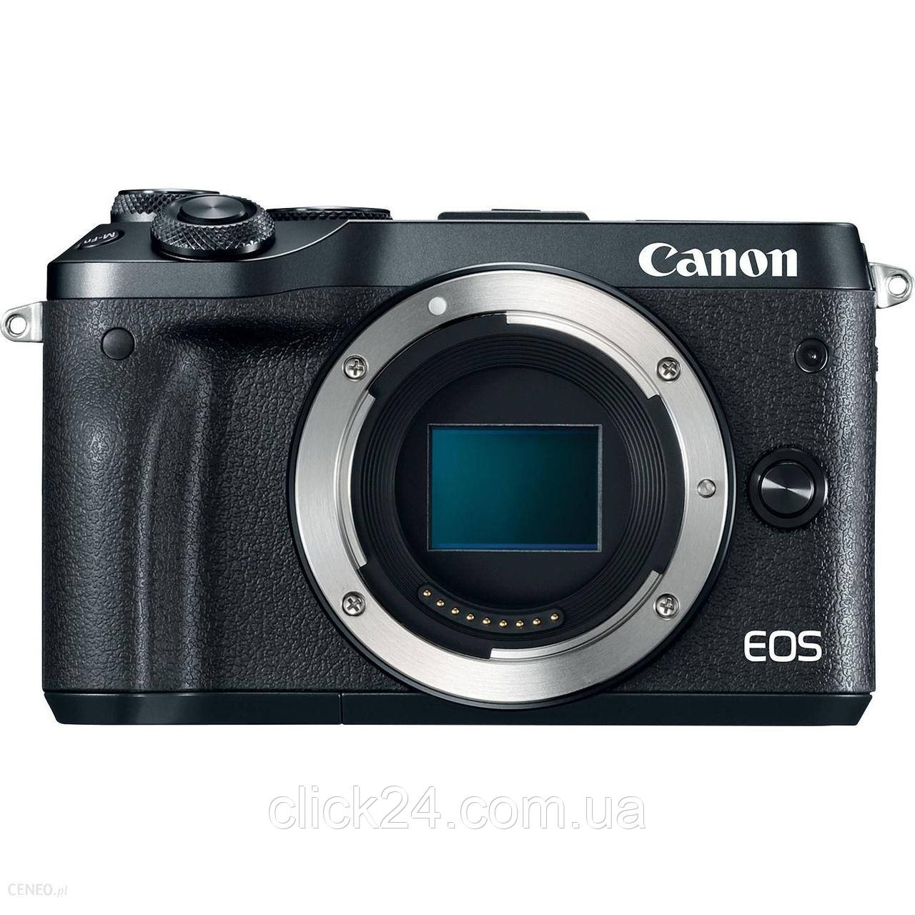 Canon EOS M6 czarny + 55-200 mm