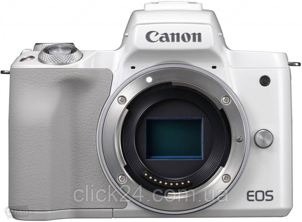 Canon EOS M50 biały + 22mm