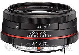 Pentax HD DA 70mm f/2.4 Limited (21430)